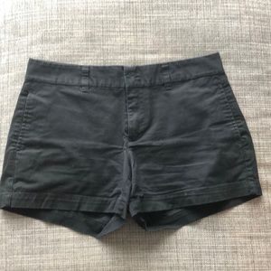 Black shorts from Gap
